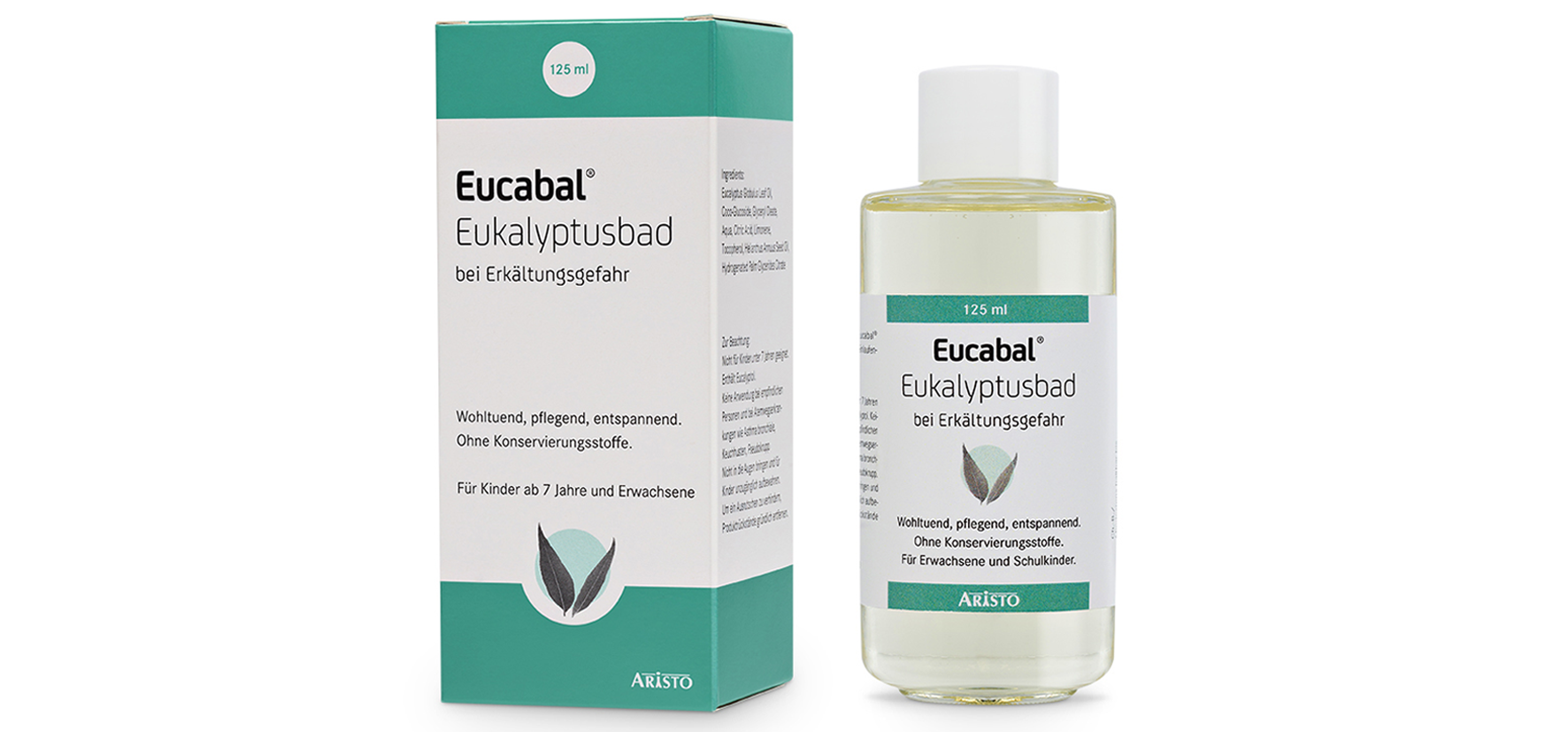 Eucabal syrup: instructions for use